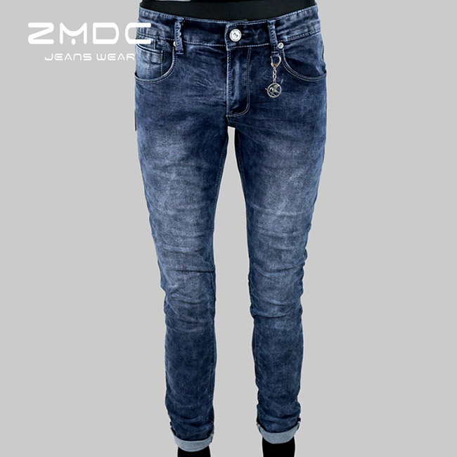 2017 China hot sale wholesale newly skinny high-end wash denim jeans for men fashion