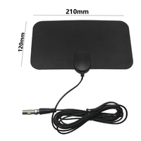 Hot Selling UHF VHF HDTV Indoor Digital TV Flat Antenna Designer