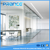 Durability of the glass partition wall / office walls of glass partition