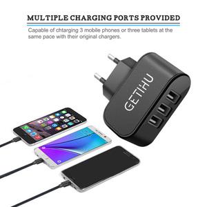 Universal USB Wall Charger Travel Wall Charger Adapter Smart Mobile Phone Charger for iPhone for Android