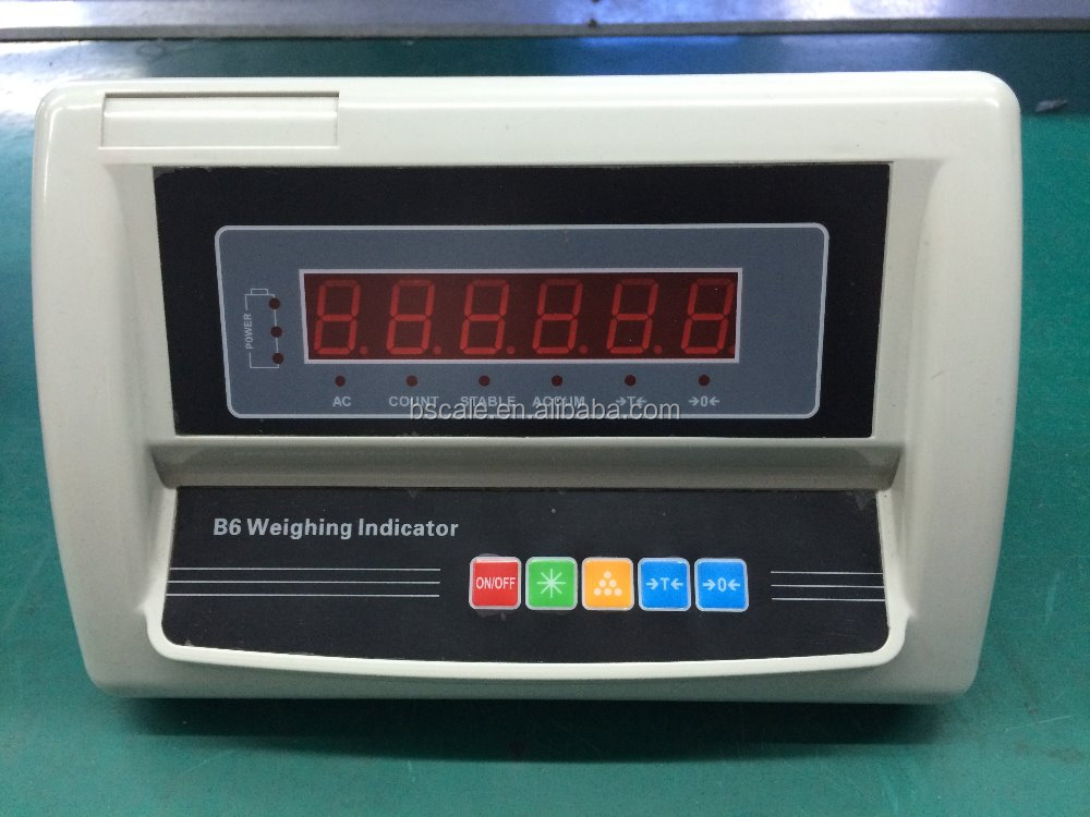 Cheap version weighing indicator for platform scale