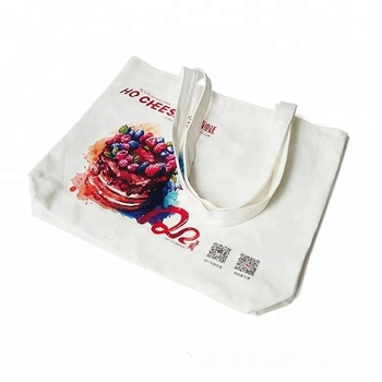 Cotton handbag tote nylon shopping bag with custom printed logo