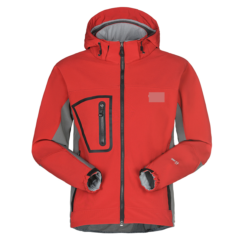 Free Shipping Outdoor Male Elastic Clothing Male Windproof Rainproof Soft Shell Clothing Elastic Clothing Outdoor Jacket