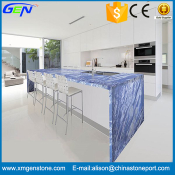 marble countertop products bathroom china top blue