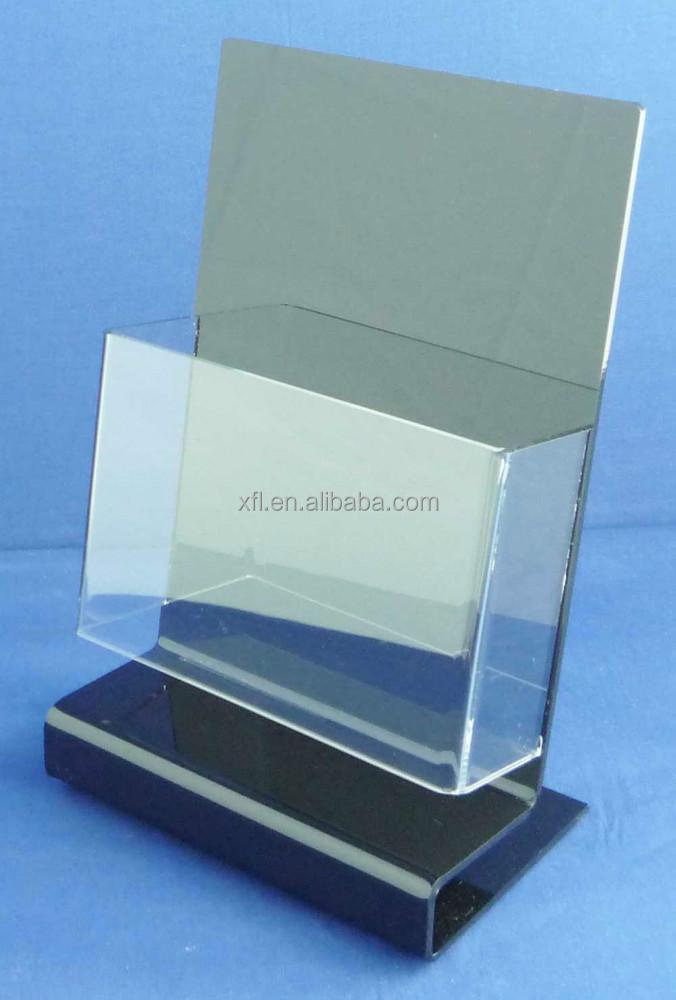 Long-term Use And Cheap Acrylic Table Brochure Display/table Top ...