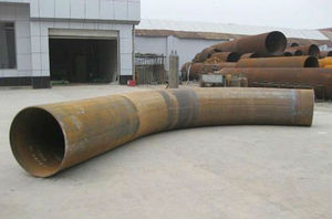 Carbon Steel Forged Bend Pipe 3d bend pipe