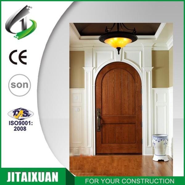 Arc conception int rieur en bois porte arrondi portes id for Decoration avec une porte