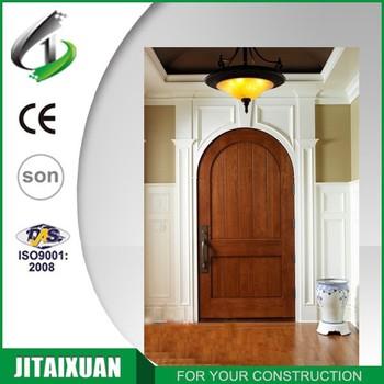 Arch Design Interior Wooden Rounded Door Buy Interior Wooden