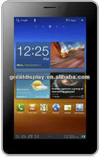 P7002 Aandroid 4.0 Dual-core MTK6577 dual <strong>sim</strong> 7 inch Screen GPS Wifi 2.0 M Camera cellphone