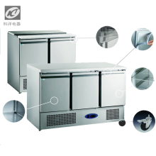 counter top are used to prevent reversal of water double pulling door preparation cabinet stainless steel refrigeration
