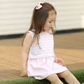 Baby Infant And Kids Sweetie 100 Cotton Dresses Autumn Summer Dress Simple Fashion Baby Clothings Bodysuit