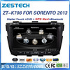 ZESTECH Autoradio Player GPS navigation multimedia system car audio for kia sorento 2013