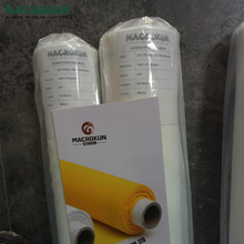 fine white 110 120 135 150 180 195 mesh polyester monofilament silk screen printing mesh bolting cloth for screen printing