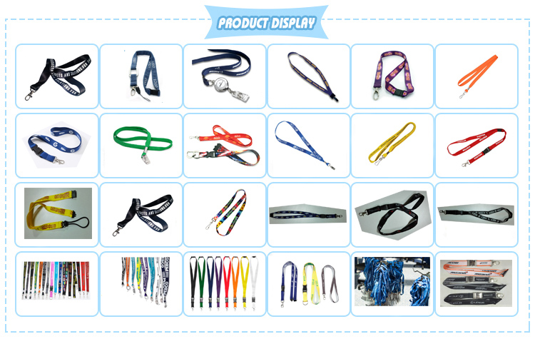 High Quality Cheap Customized Measuring Tape Lanyard