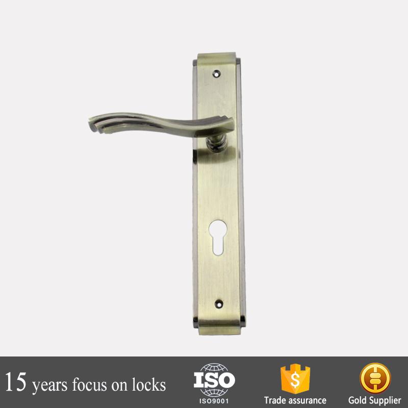 Venta al por mayor cerradura puerta placa-Compre online los mejores ...