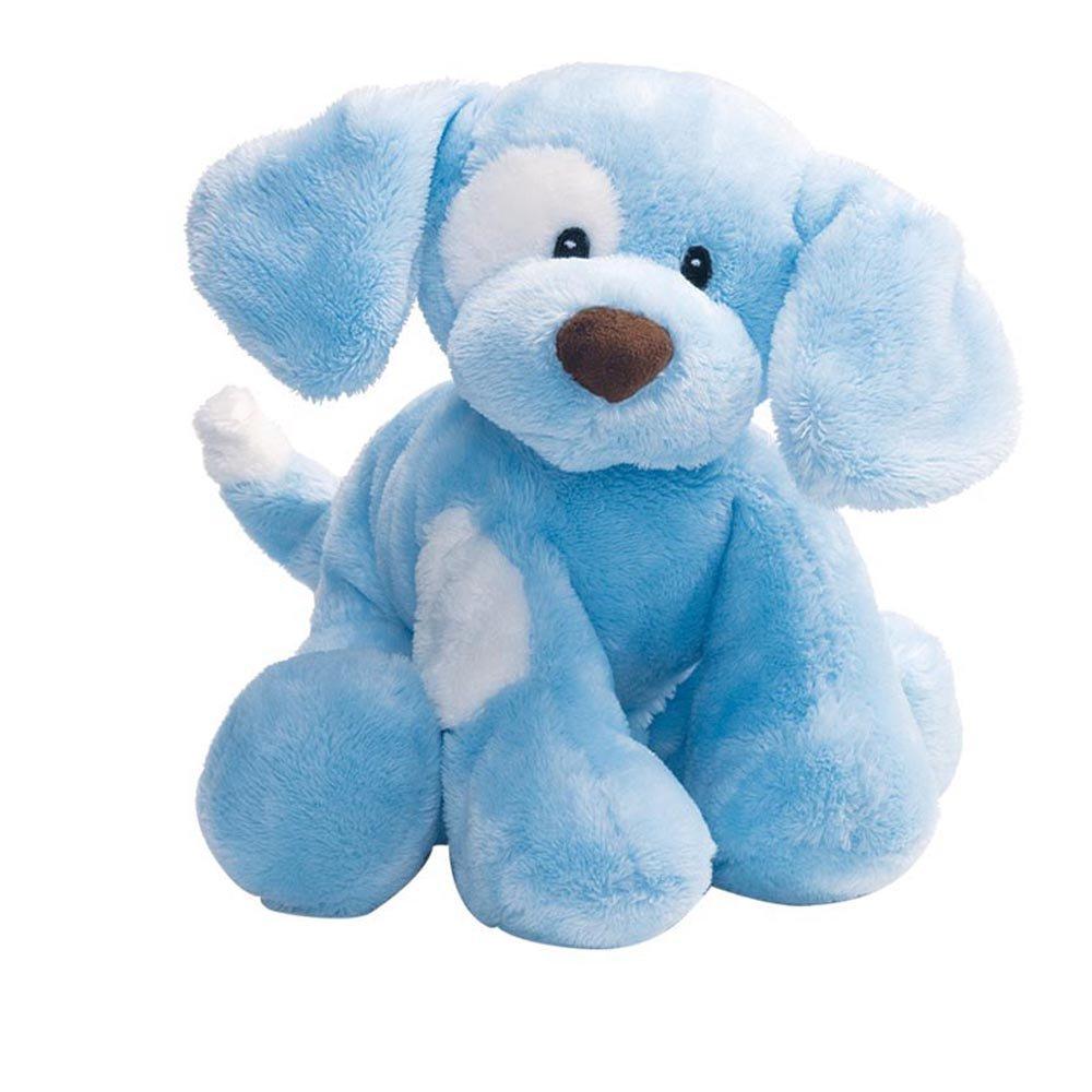 Buy Baby Gund Spunky Dog Stuffed Animal Plush Sound Toy Blue 8 In