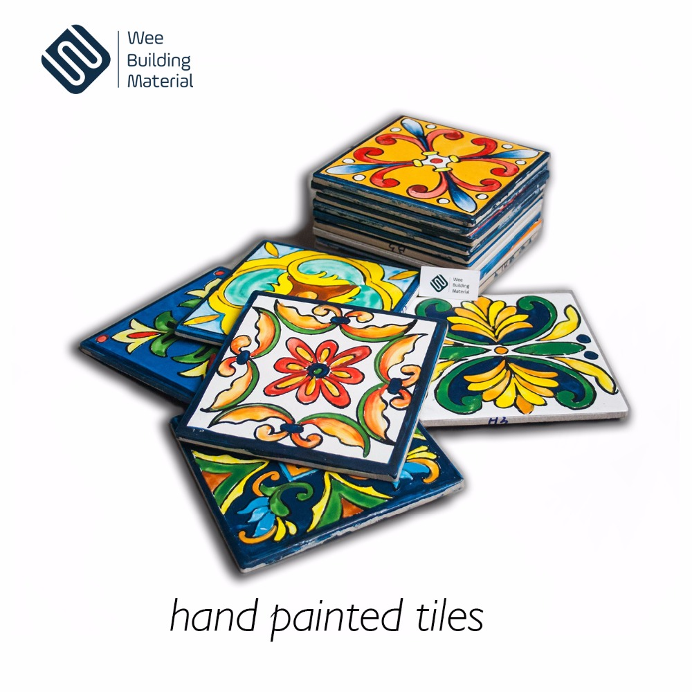 100% hand painted ceramic wall tile and decorative tile in foshan manufacturer