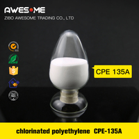 Chlorinated Polyethylene CPE 135A PVC Impact Modifiers Industrial Chemical Product