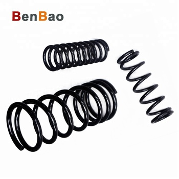 Custom Zinc Plated heavy duty coil Compression Auto Car springs