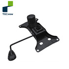 Pressure Tilted swivel mechanism locking safety function for office chair with Seat back adjustment Controller