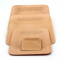 bamboo dinner plates cheap wood disposable tray for wedding