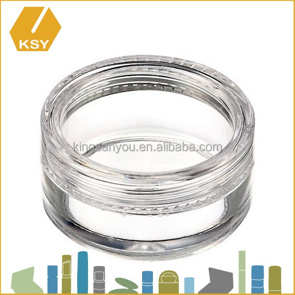 Hot sale plastic container 5ml cosmetic jar