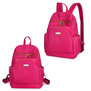wholesale leisure polyester and nylon backpack