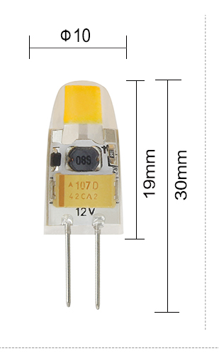 Hot new products for 2015 G4 halogen lamp dimmable silicon led 12 volt G4 LED g4 led
