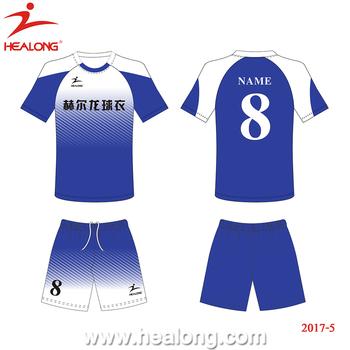 9ae508c49dcac Healong Livre Design Novo Top Grade Fresco Seco Camisas de Futebol Por  Atacado de Futebol Jersey