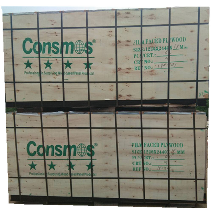 construction use 1220*2440*18mm WBP glue film faced plywood