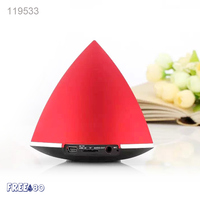 2016 CY18 3W Mini Waterproof Wireless Bluetooth 3.0 Triangle Speaker for MP3/WMA/WAV/SBC