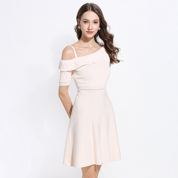 2018 New Design Fashion Clothes Casual Wear Summer Party Lady Dress