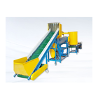Hot sale 500kg/h PET recycling machine / pet bottle recycling plant good price / pet flake washing line