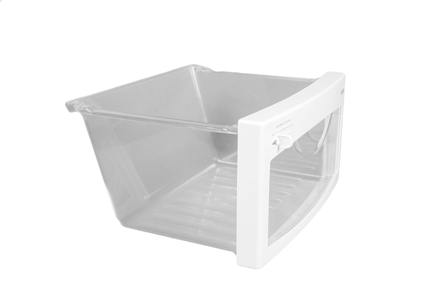 LG Electronics 3391JJ1042B Refrigerator Vegetable Crisper Drawer, Clear with White Trim