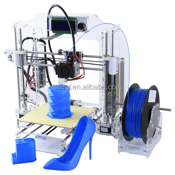 2016 High quality easy assembly diy 3d printers FDM object 3d printing support pla abs 3d printer filament home use 3d printer