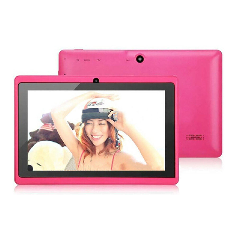 Best 7 inch Cheap 1024*600 Screen Manufacture Tablet PC for Bluetooth/Multi touch/Wifi/Webcams/GPS