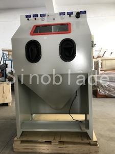 Small Sandblasting Equipment of Blaster cabinet and abrasive reclaim system