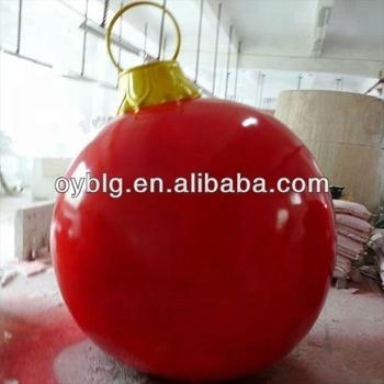 Big hanging balls that