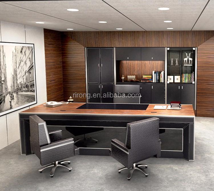 Moderne luxus büro  2017 Luxus Nach Maß Moderne Büro Executive Schreibtisch Ceo Big ...
