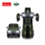 RASTAR light toy with music one key transform robot Land Rover RC car robot toy