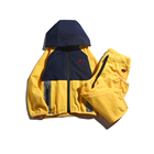 2019 latest infant yellow boutique baby clothing sets sportswear for kids boys