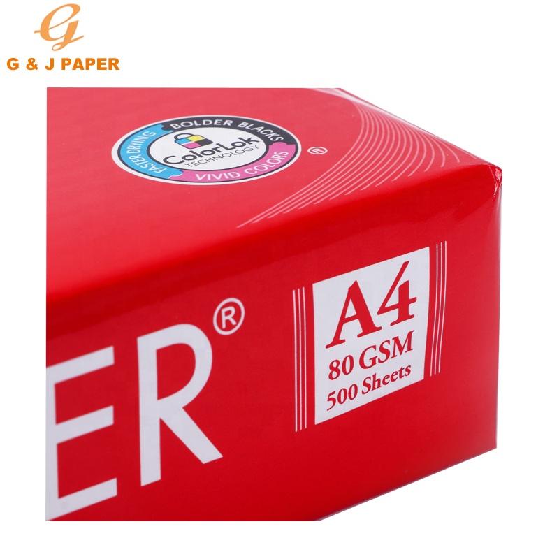Wholesale Super White JK Copier Paper A4 80gsm