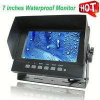 Made in China 7 inch Digital outdoor waterproof solar security dummy camera