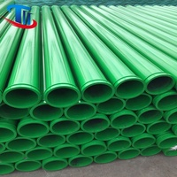 DN125 ST52 concrete pump pipe seamless delivery pipe for concrete pump truck OEM 056851009