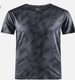 sports gym men's running fitness t-shirt dry fit camo shirt