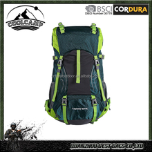 Water Resistant Backpack for Outdoor Hiking Travel Climbing Camping with Rain Cover