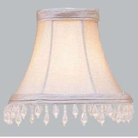 lamp shade bell shaped lamp shades buy beaded lamp shades crystal. Black Bedroom Furniture Sets. Home Design Ideas
