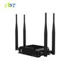 Hot selling 4 LAN Ports QoS,Firewall,VPN Function 4G LTE 300mbps openwrt wifi router
