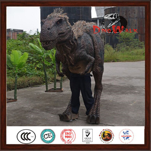 Factory price realistic dinosaur costume t. rex with good