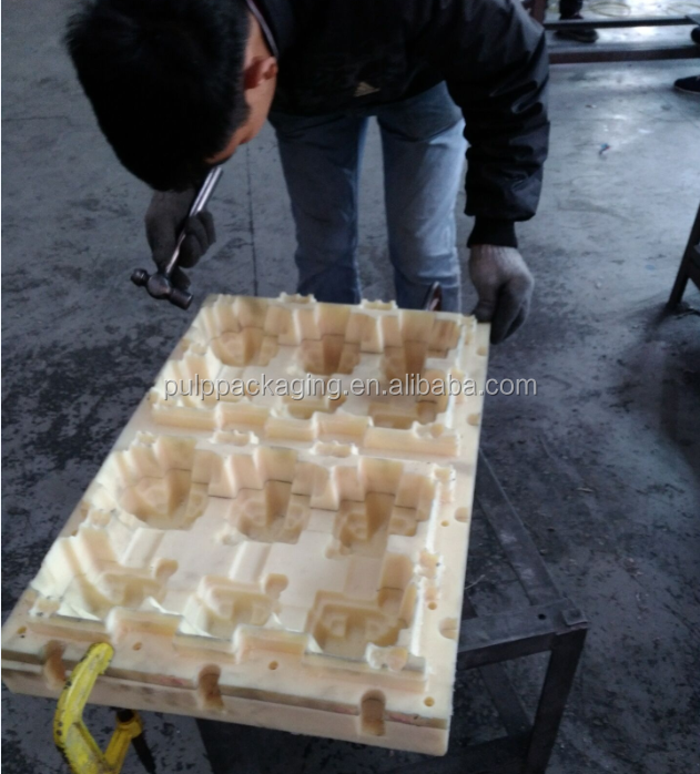 OEM Free design Paper Pulp Shoes Packaging Plastic Moulds